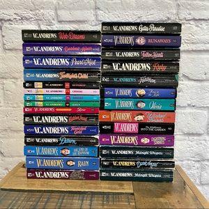 VC ANDREWS Huge Lot of 28 Vintage Books